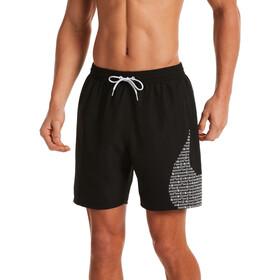 "Nike Swim Matrix Swoosh 7 ""volley shorts Herrer, sort"